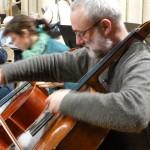 Spike Wilson, cello
